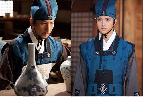 <p> Diễn viên kỳ cựu Park Geon Hyung và chàng tân binh Oh Seung Yoon. Geon Hyung vào vai Lee Yook Do do Seung Yoon thủ vai thời niên thiếu. Trông cả hai hao hao giống nhau.</p>