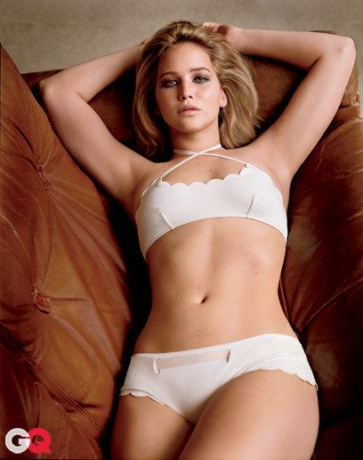 "<div style=""text-align: center;""> Jennifer Lawrence thật là quyến rũ.</div>"