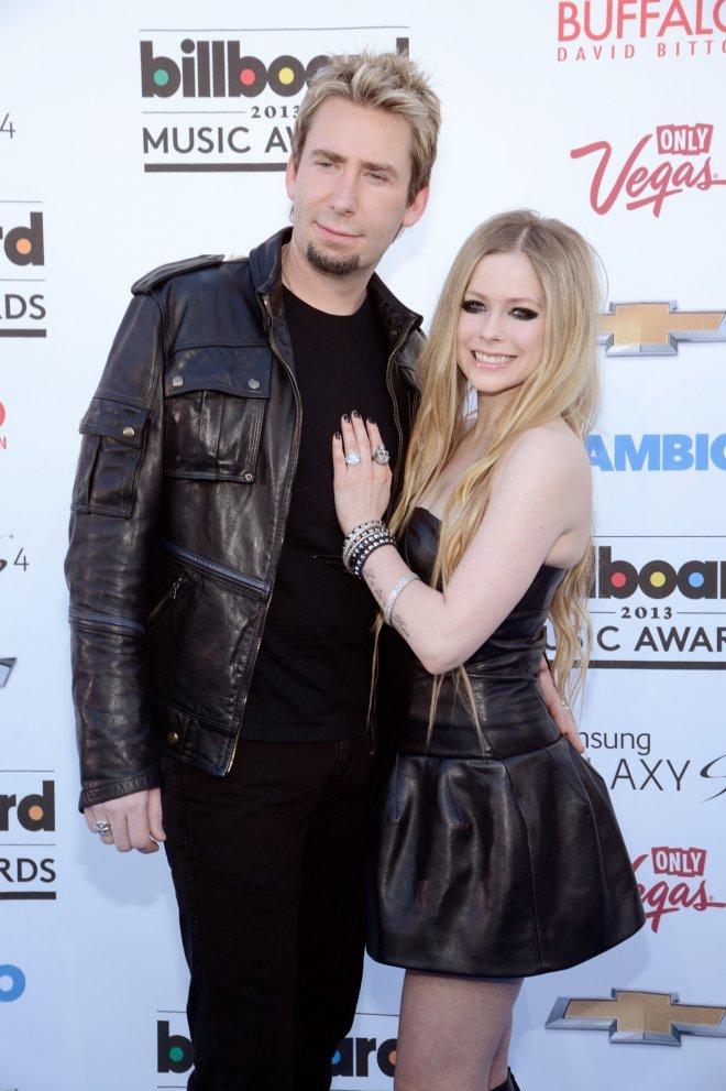 <p> Avril Lavigne tìm thấy hạnh phúc mới bên Chad Kroeger năm 2012 và vừa mới lên xe hoa lần hai đầu tháng 7 vừa qua.</p>