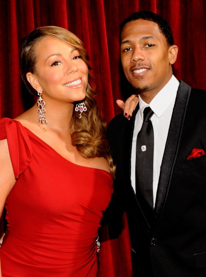 <p> Nhiều người thấy Mariah Carey và Nick Cannon chẳng đẹp đôi tẹo nào, nhưng anh chàng rapper và diva tóc vàng xinh đẹp vẫn hạnh phúc sau đám cưới năm 2008.</p>