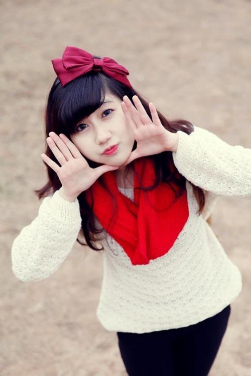 <p> Những shot hình đẹp của Hương Kyn từng được chia sẻ trên nhiều trang fanpage dành cho giới trẻ.</p>