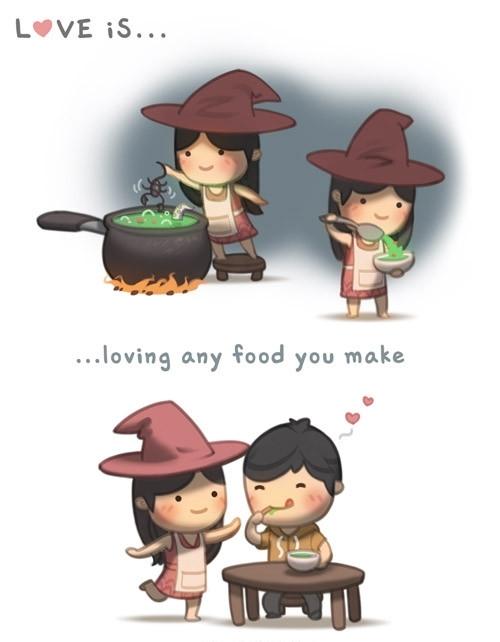 <p> Từng món ăn người yêu nấu đều ngon lắm.</p>