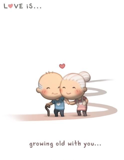 <p> Tình yêu không phân biệt tuổi tác.</p>