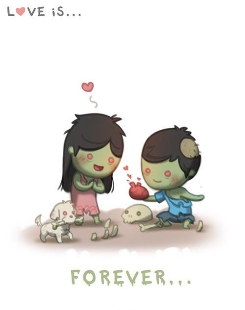 <p> Tình yêu là mãi mãi.</p>