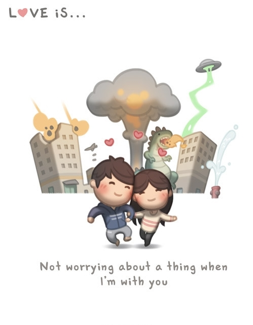 <p> Luôn ngập tràn sự vui vẻ, không có bất kỳ lo lắng gì khi ở cạnh nhau.</p>