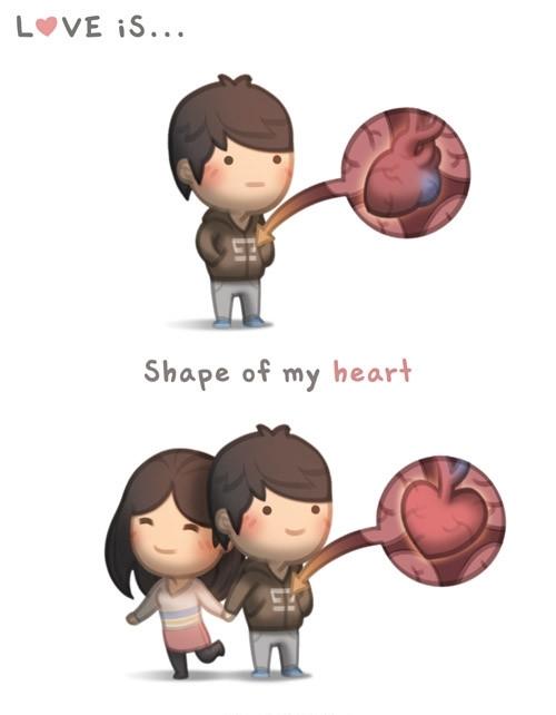 <p> Cảm nhận được trái tim đang đập mạnh trước cái nắm tay của đối phương.</p>