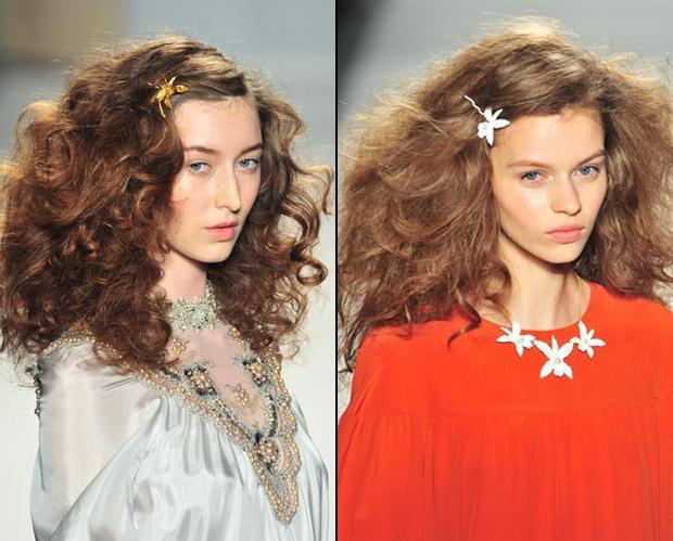 Những xu hướng trang trí tóc mới nhất cho 2014