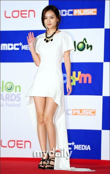 <p> Nữ diễn viên Kim Yoon Hye (từng đóng<em> Flower Boys Next Door, Heartstrings</em>).</p>