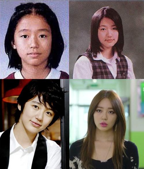 <p> Yoon Eun Hye từ bé đã xinh đẹp.</p>