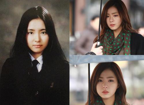<p> Shin Se Kyung xinh đẹp từ khi còn đi học.</p>
