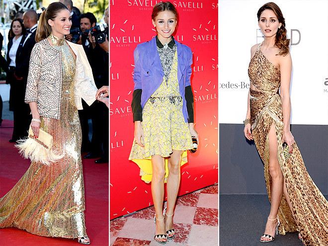 <p> Olivia Palermo kết hợp đôi xăng đan quai mảnh với khá nhiều kiểu trang phục.</p>