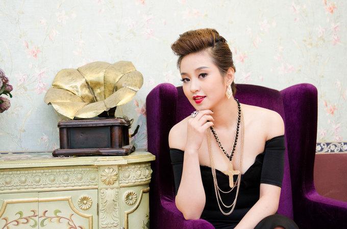 """<p> Năm 2010, ngay sau khi tốt nghiệp Nhạc viện Hà Nội, Mi Vân lên xe hoa khiến nhiều chàng trai """"vỡ mộng"""".</p>"""