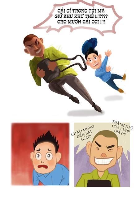 'My Father', truyện tranh ấm áp về tình cha