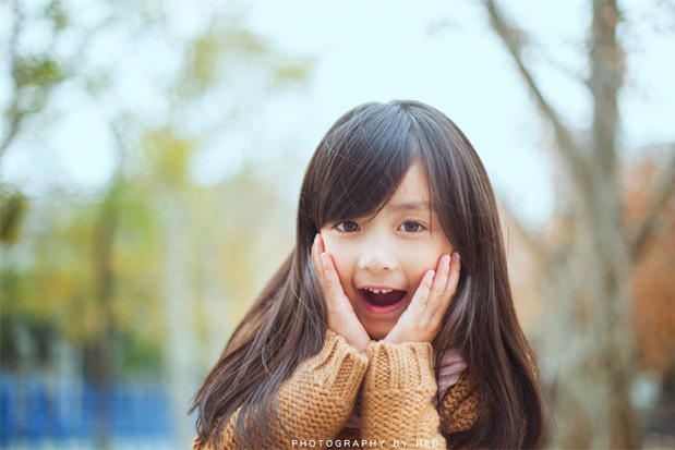 Cô bé 7 tuổi đáng yêu như thiên thần
