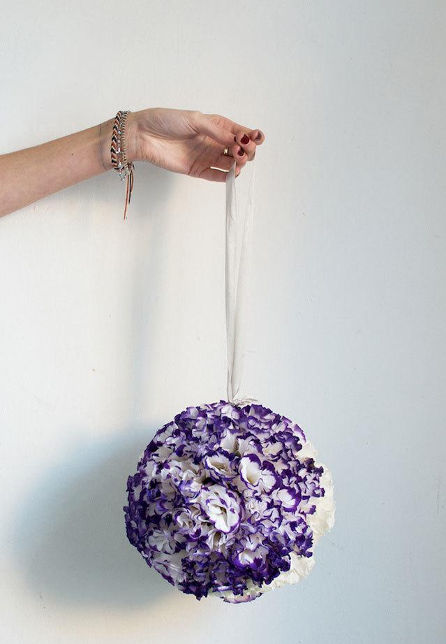 Xinh xinh quả cầu hoa tròn trĩnh