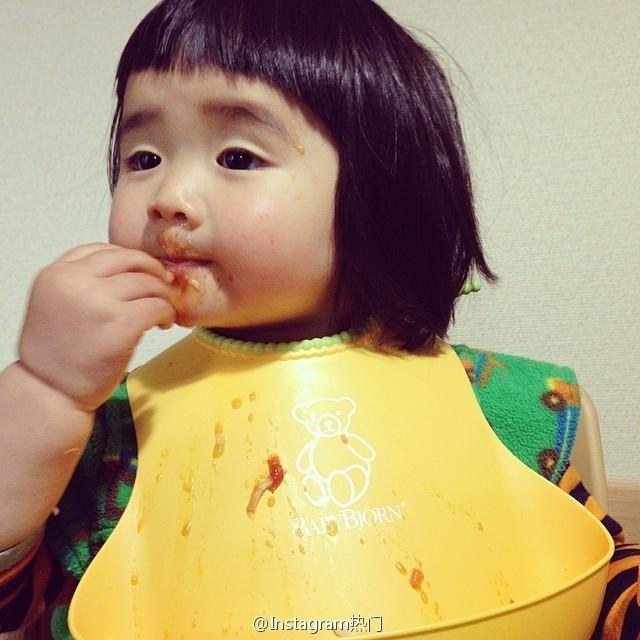 <p> Yakankun với khuôn mặt tèm lem đồ ăn.</p>