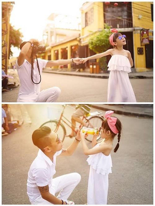 Bộ ảnh 'Follow me' tuyệt đẹp của ông bố đơn thân với con gái