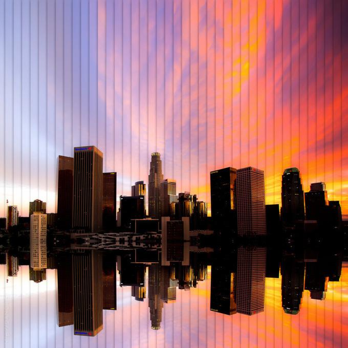 <p> 42 bức ảnh mặt trời lặn ở Los Angeles.</p>