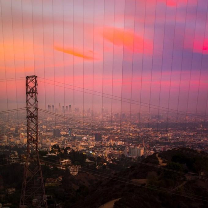 <p> 23 bức ảnh mặt trời lặn ở Runyon Canyon, Los Angeles, California.</p>