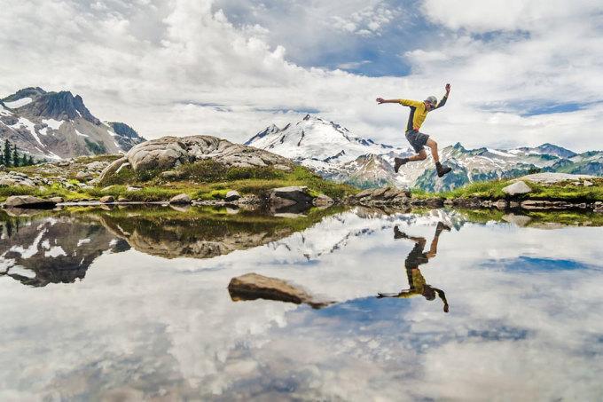 <p> Cảnh đẹp như siêu thực ở hồ Ann trên núi Baker Highway, Washington. Ảnh: <em>Ethan Welty</em></p>