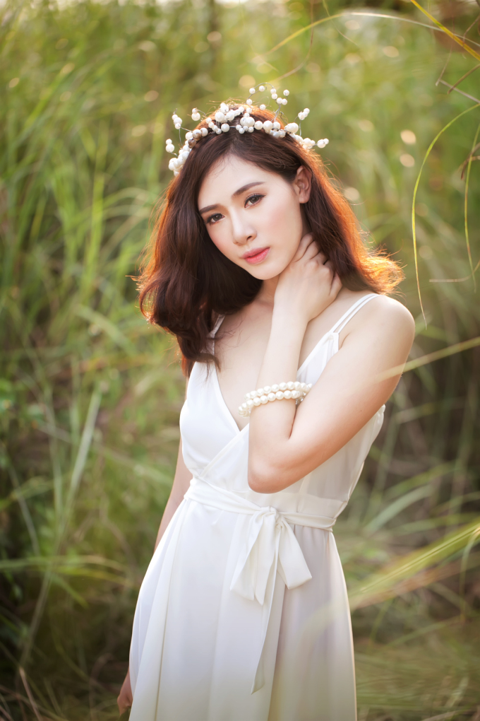 "<p class=""Normal""> <span>Make up: Bul Nguyễn,</span><span>Photo: Bigshadow Nguyễn,</span><span>Trang phục: Ly Vu couture.</span></p>"