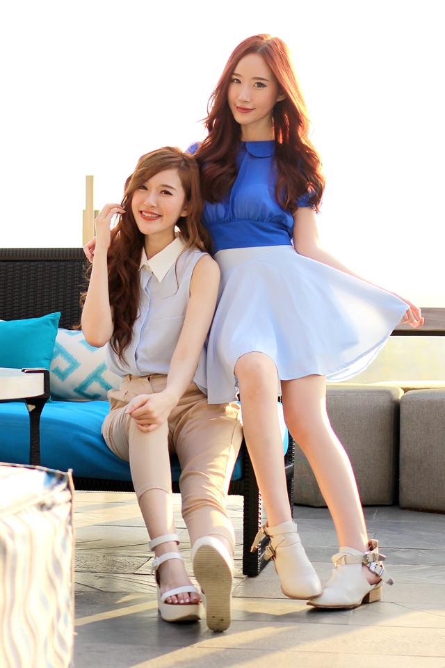<p> Một số fan ca ngợi Elle - Jess là cặp chị em hot blogger nổi tiếng và sành điệu như cặp Jessica - Krystal xứ Hàn.</p>