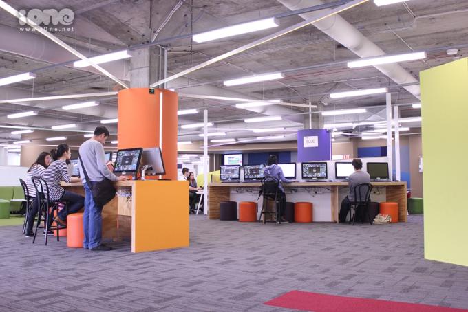 """<p> <span style=""""line-height:20px;"""">""""Student connect"""" là nơi hỗ trợ, giải đáp thác mắc của sinh viên và cũng là nơi tự học ngoài thư viện.</span></p>"""