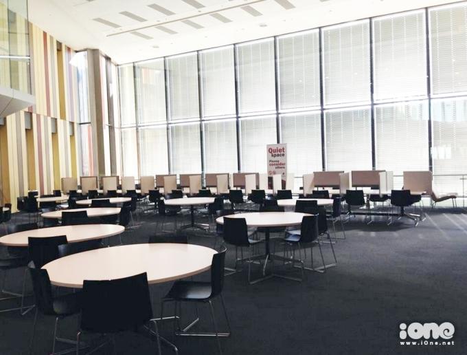 Choáng ngợp với thư viện siêu hoành tráng của sinh viên Úc