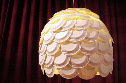 Đèn ngủ độc đáo bằng đĩa nhựa