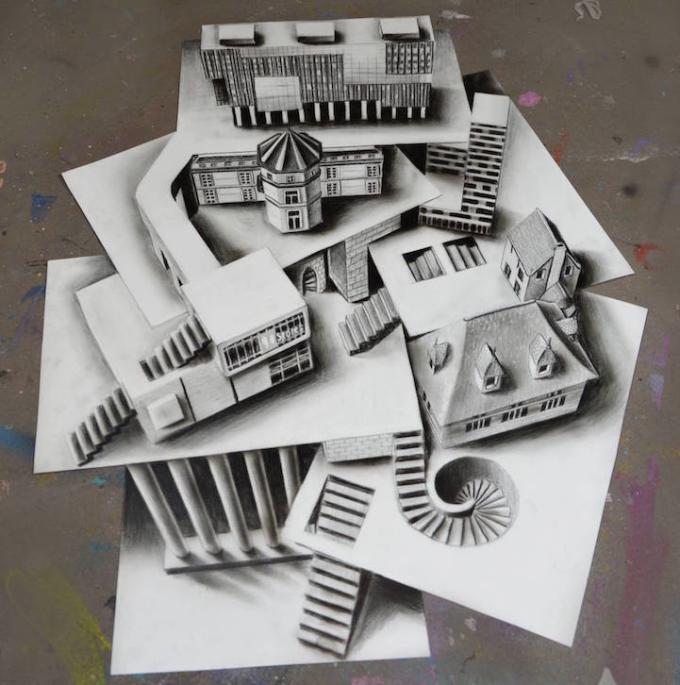 Trầm trồ thán phục trước những bức tranh 3D ảo diệu