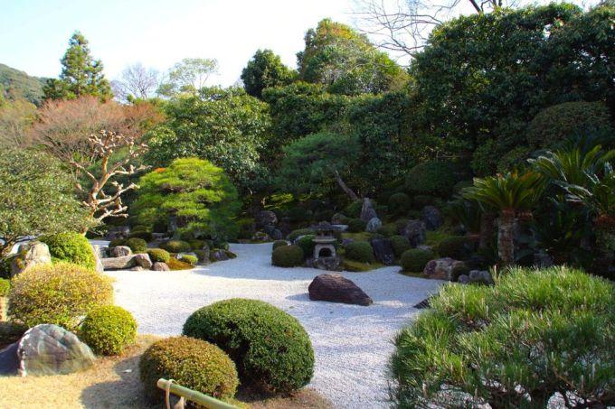 <p> Vườn trong ngôi đền cổ Chion-in ở Kyoto.</p>