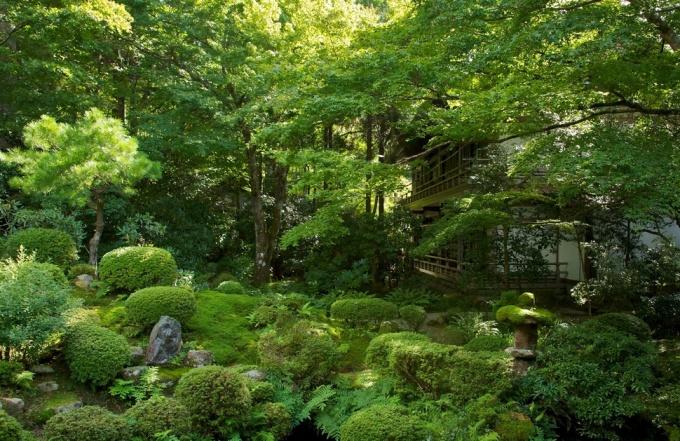 """<p class=""""Normal""""> Đền Sanzen-in ở làng Ohara là điểm hút khách du lịch chủ yếu của vùng phía bắc Kyoto. Du khách mong muốn được hòa mình vào thiên nhiên bình yên nơi đây.</p>"""