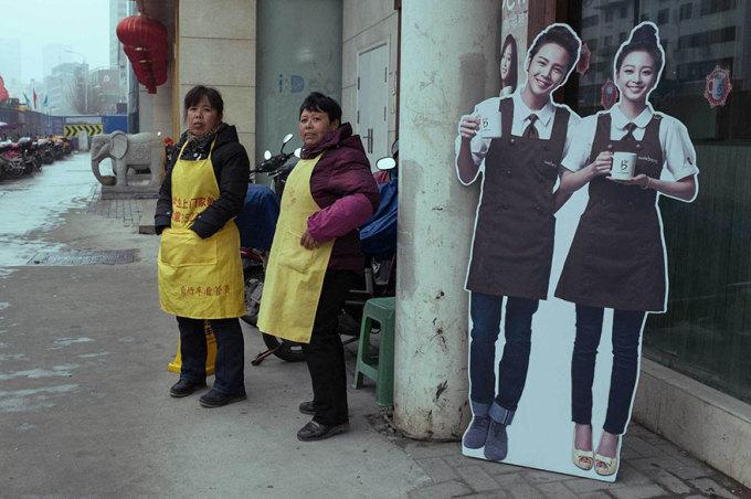 Chộp những khoảnh khắc hài hước trên đường phố Trung Quốc