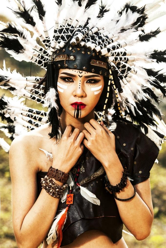 <p> Nổi lên từ Vietnam's Next Top Model, Hà Thu được nhiều khán giả yêu mến vì gương mặt xinh đẹp, hao hao MC Đan Lê.</p>