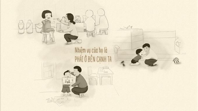 Bộ tranh 'Về nhà thôi' ngày Tết khiến teen sụt sùi