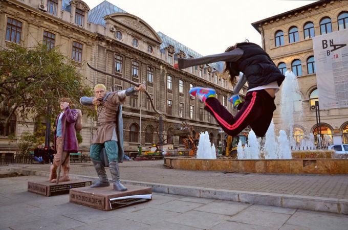 Những khoảnh khắc nhảy múa tuyệt đẹp trên đường phố