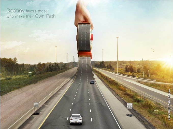 Loạt ảnh photoshop hài hước khơi gợi trí tưởng tượng