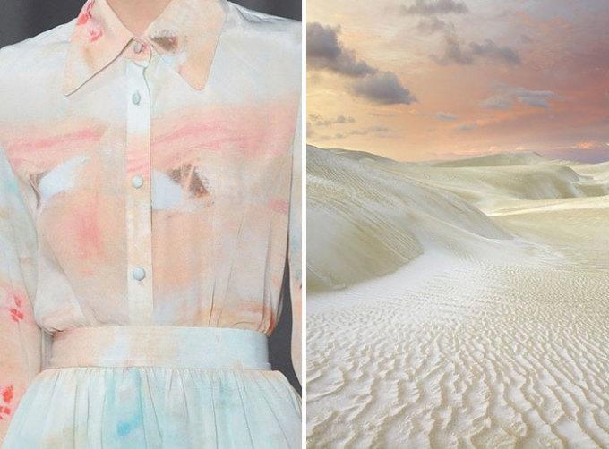 <p> Thiết kế của Christian Siriano 2013 nhẹ nhàng, tinh tế như lấy ý tưởng từnhững cồn cát trải dài, nối tiếp nhau.</p>