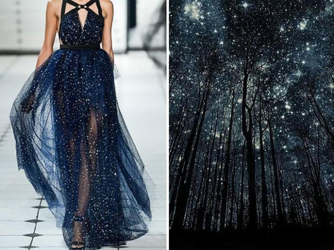 <p> Những ánh sao lung linh trên bầu trời được nhà thiết kế nổi tiếng Jason Wu đưa vào trong bộ sưu tập của anh năm 2013.</p>