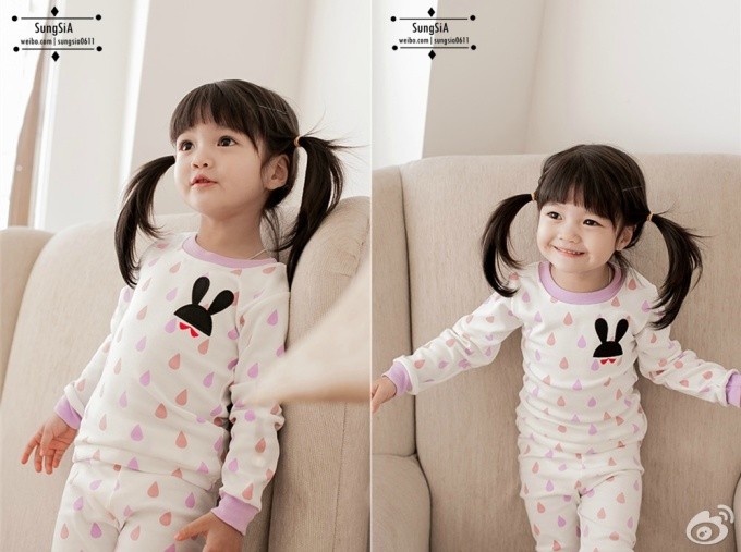 <p> Vẻ ngộ nghĩnh khi cười của nhóc tỳ xứ Hàn.</p>