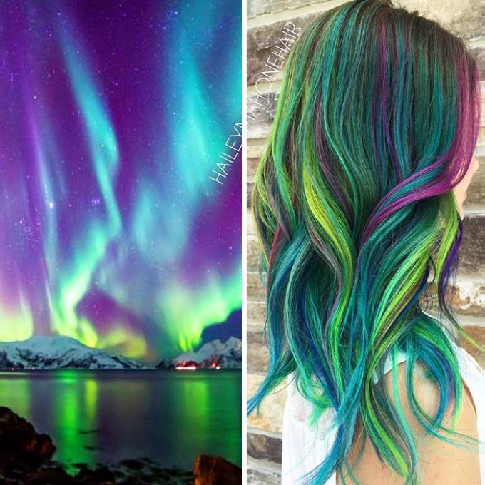 Sê ri những mái tóc đẹp lung linh như dải ngân hà
