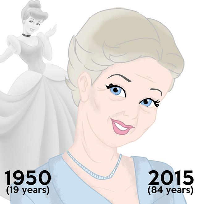 <p> Cinderella hiện 84 tuổi, có vẻ đẹp quý phái chưa này?</p>