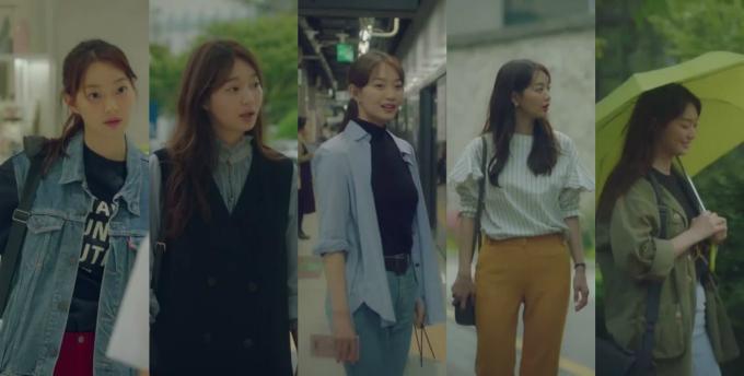 <p> <strong>6.Song Ma Rin (Tomorrow With You): </strong>Ma Rin của Shin Min Ah đã nhanh chóng góp mặt vào danh sách những Fashion Icon của màn ảnh Hàn ngay cả khi phim chưa kết thúc. Nữ nhiếp ảnh gia có tủ quần áo có thể khiến mọi cô gái thèm muốn. Ma Rin không gò bó trong một phong cách nhất định, có lúc chưng diện rất nữ tính, cổ điển cũng có lúc năng động và nghịch ngợm. Điểm chung trong các set đồ của Ma Rin đó là thường được phối layer khéo léo.</p>