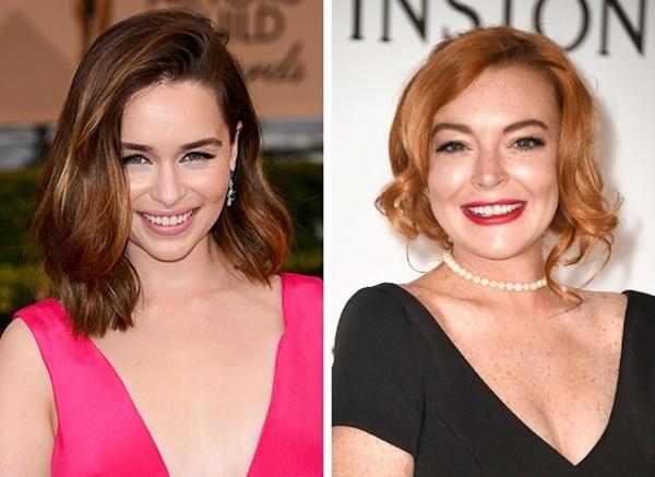 Lindsay Lohan có phần thua kém hơn rồi.