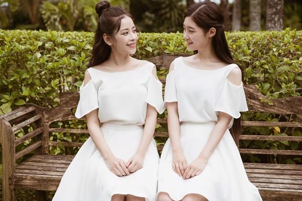 Chi Pu và Chaeyeon thân thiết khi hợp tác chung phim.