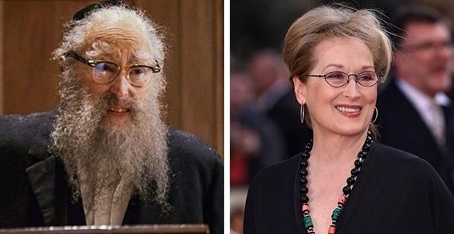 <p> Meryl Streep - Rabbi phim <em>Angels in America</em></p>