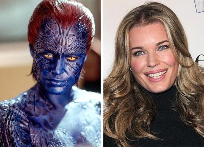 <p> Rebecca Romijn - Mystique phim <em>X-Men</em></p>