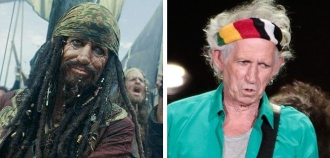 <p> Keith Richards - thuyền trưởng Teague phim <em>Pirates of the Caribbean: On Stranger Tides</em></p>
