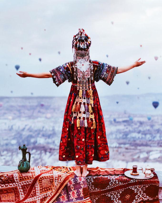 <p> Cappadocia, Thổ Nhĩ Kỳ</p>