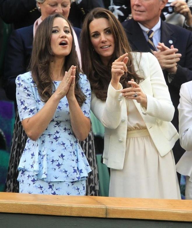 <p> Kate Middleton và Pippa Middleton</p>